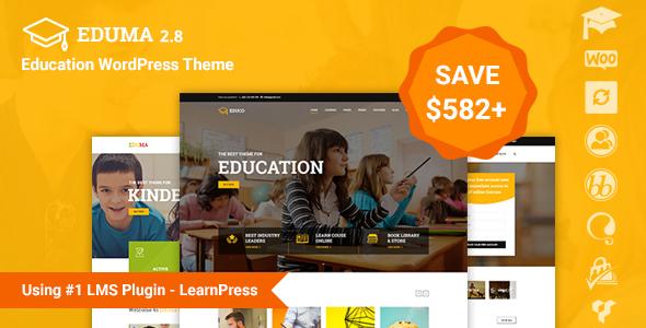 Education WP v2.8.2 WordPress教育英文主题 免费下载