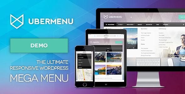 UberMenu  v3.2.5 WordPress菜单插件 免费下载