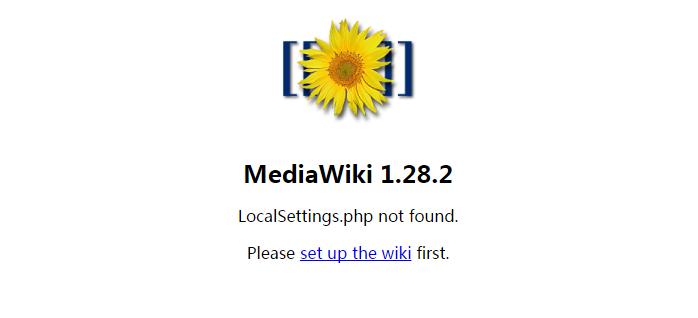 为一个WordPress网站安装mediawiki百科